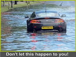 hydroplaning, driving in floods, driving in rain, driving in wet weather