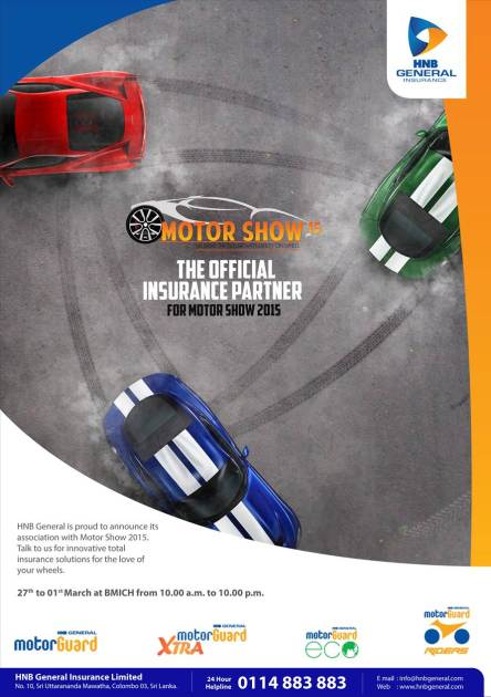 HNBGI Motor Show Official Insurance Partner