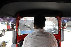 POV tuktuk