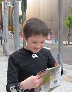 map reading child