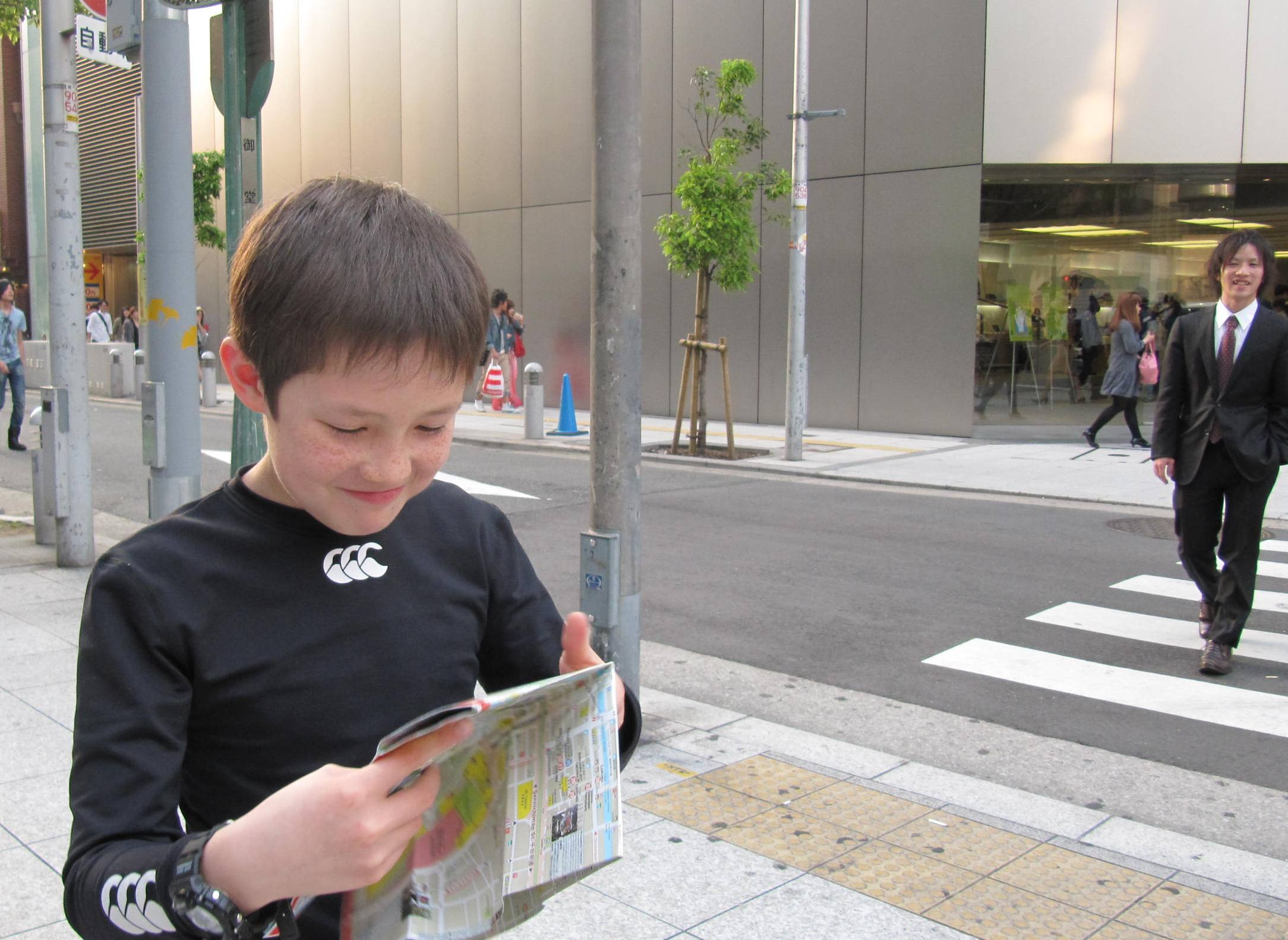 Travelling With Children HNB General Blog - Map reading for children